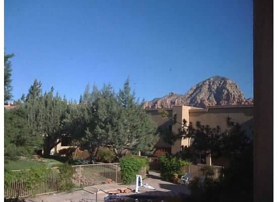 Sedona Springs Resort: view from one of the windows