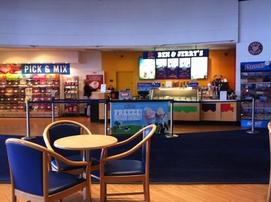 Just Coffee Inside Costa Odeon Cinema Glasgow Quay