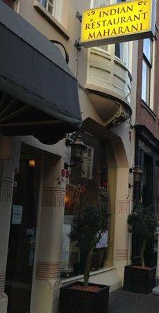 Indian Restaurant Maharani: Restaurant Frontage