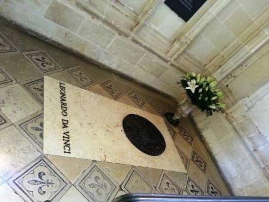 Château d'Amboise : Leonardo da Vinci Grave