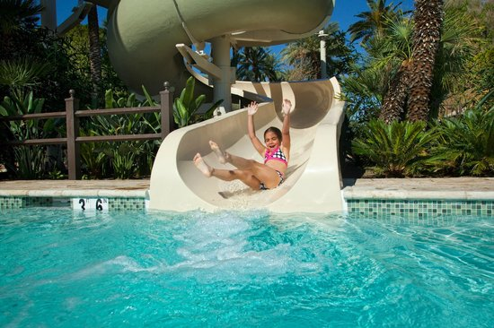 The Wigwam: Two 25 Foot Twisting Waterslides