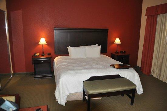 Hampton Inn and Suites Boerne : Bedroom