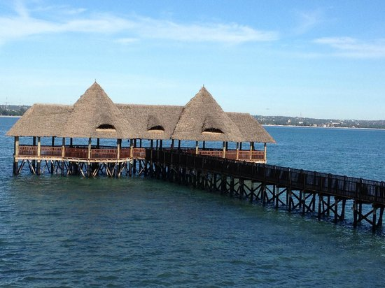 DoubleTree by Hilton Dar es Salaam-Oysterbay: The pier