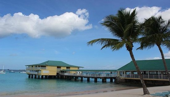 Radisson Aquatica Resort Barbados: Pier Suites and Aquatic Club Restaurant