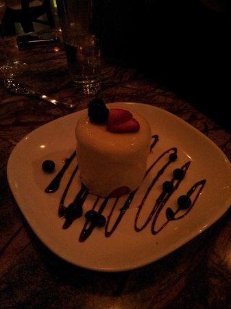 Frozen White Chocolate Coconut Cake