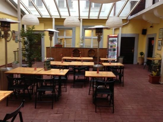 Aureus Clavis Hotel: unico spazio comune