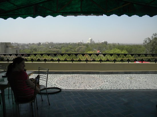 Hotel Taj Plaza: view from rooftop terace