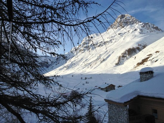 Le Chardon Mountain Lodges : great view