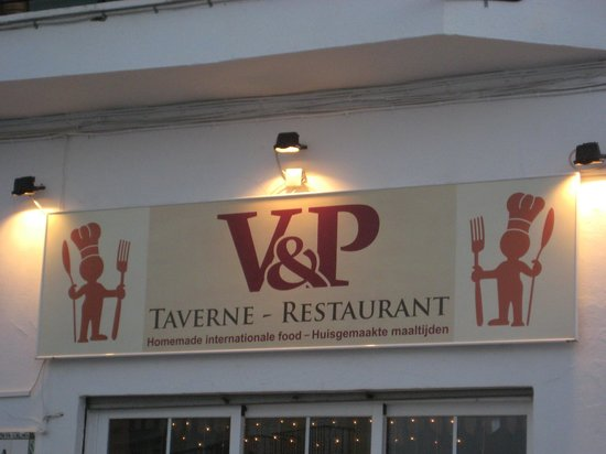 La Trattoria: so this is our new name V&P from Vivi and Patrick