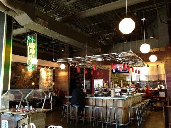 B Spot Burgers The Pickle Bar