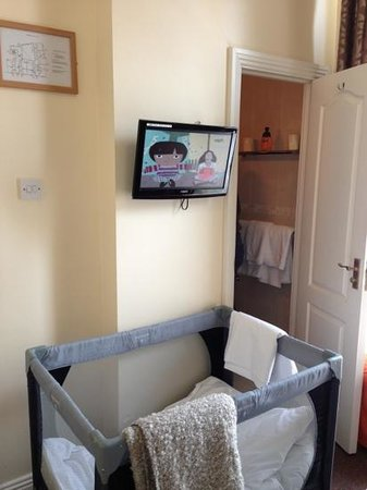 Celtic Lodge Guesthouse: tv