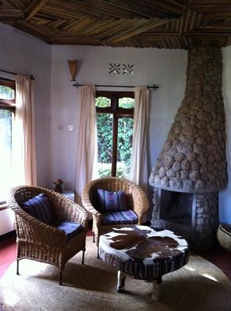 Ngorongoro Wildlife Lodge: your own private salon in each villa