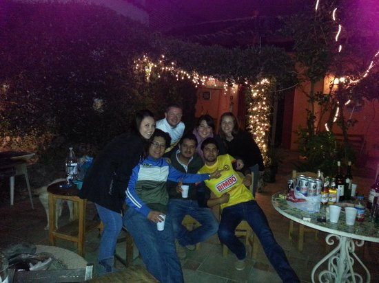 Hostel Las Palomas: hermosooo lugaarrr y grandes amigoooossss es sentirse como en casa