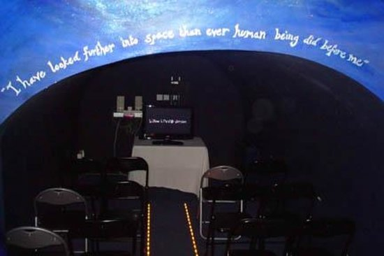 Herschel Museum of Astronomy: Viewing room for the film