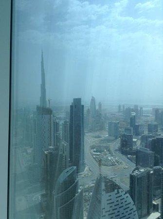 JW Marriott Marquis Hotel Dubai: view from 67 floor room