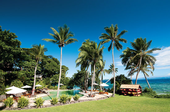 Royal Davui Island Resort: Main Pool