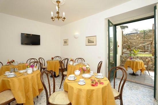Il Ducato Di Ravello: sala colazione