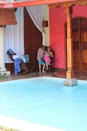 Hotel Casa del Consulado : Pool are of Hotel Casa Fel Consulado