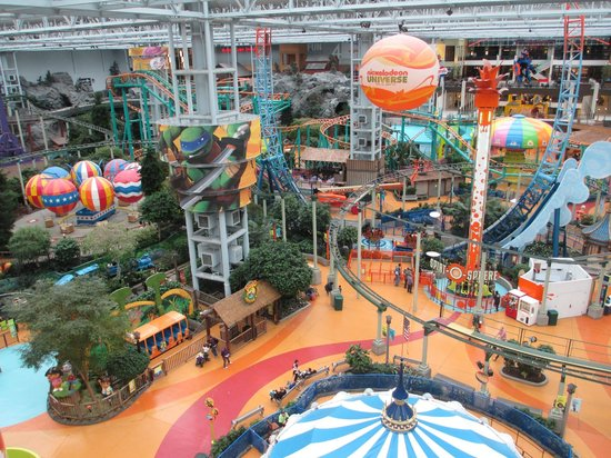 Nickelodeon Universe at Mall of America opens this Saturday, March Visitors will find a mix of rethemed rides from the old park, as well as some new rides, headlined by the SpongeBob.