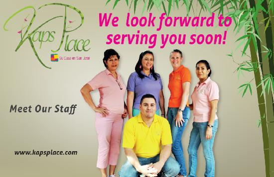 Kaps Place: MEET OUR STAFF