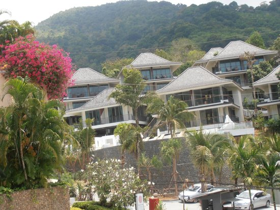 Phunawa Resort: view of neighbouring hotel/resort