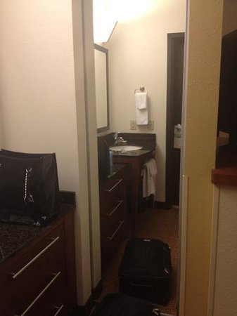 Hyatt Place Charleston Airport and Convention Center: mirror/closet