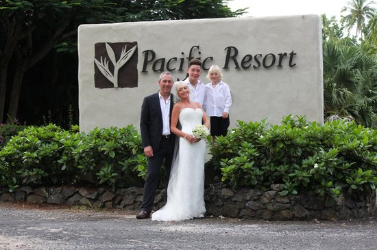 Whoop Whoop to Pacific Resort Aitutaki!!