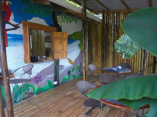 Pancito Cafe: LA TERRAZA