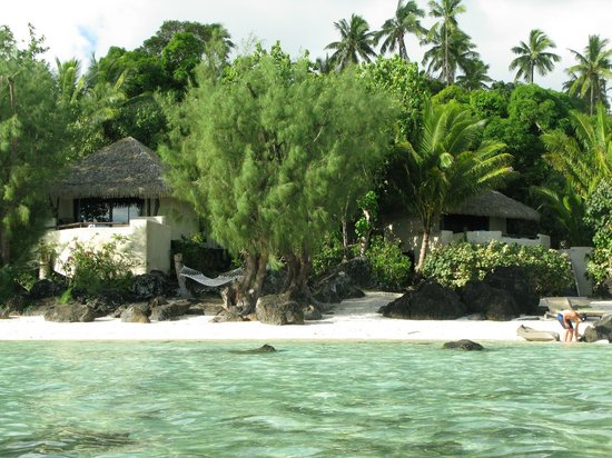 Pacific Resort Aitutaki: Ultimate beachfront bungalows