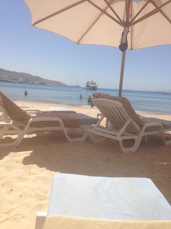 Kempinski Hotel Aqaba Red Sea: Beach side