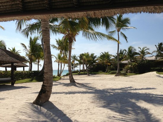 Sanctuary Cap Cana by Playa Hotels & Resorts: VIew from our cabana on the beach