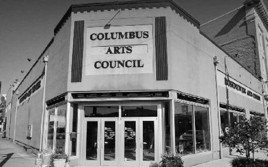 Columbus Arts Council - Rosenzweig Arts Center: Outside of the Columbus Arts Council located at the Rosenzweig Arts Center