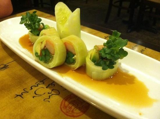 Wasabi Japanese Restaurant: the Bonsai Tree, amazing!