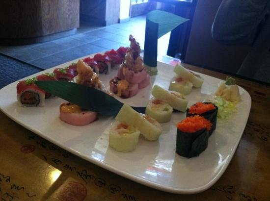 Wasabi Japanese Restaurant: Another amazing looking meal
