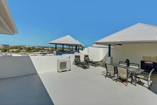 Raffles Mooloolaba: Penthouse rooftop