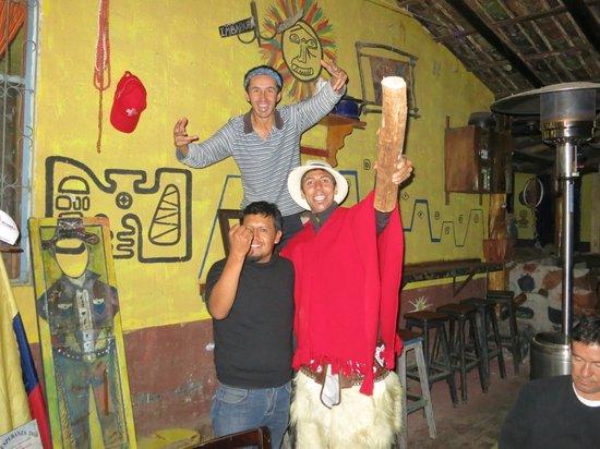 "Hostal Refugio Terra Esperanza: sesion de fotos ""cultura ecuador"""