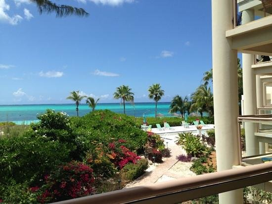 Coral Gardens on Grace Bay: view from our balcony