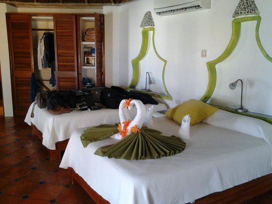 Mahekal Beach Resort: Beds