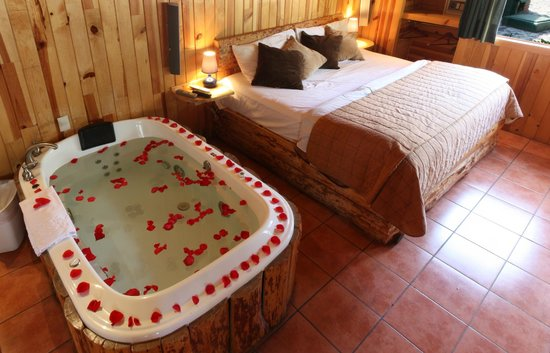 Cabanas El Estribo Hotel: Recamara Suite
