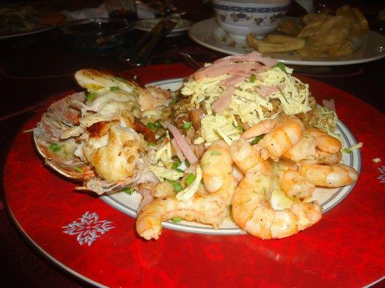 La Torre de Marfil: Lobster and Srimp Combo.