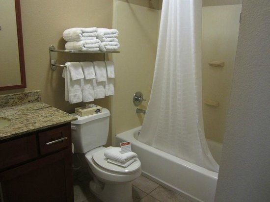 Candlewood Suites Fort Stockton: LOVED this bathroom
