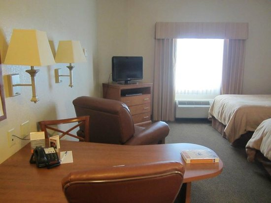 Candlewood Suites Fort Stockton: Very spacious suite