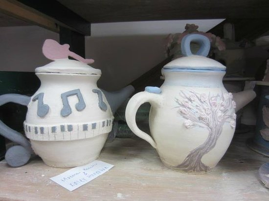 Cup O  Pottery: Teapots