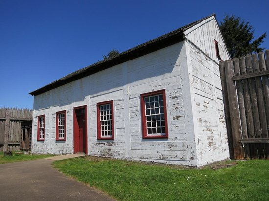 Fort Vancouver National Historic Site: The wash house.