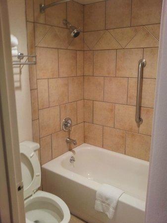Rodeway Inn & Suites: Bath