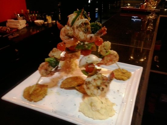 Restaurante Mira Miro : Pinchos de camarones Miro