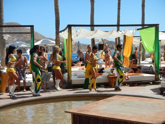 Nikki Beach: Brazil Party and dancers