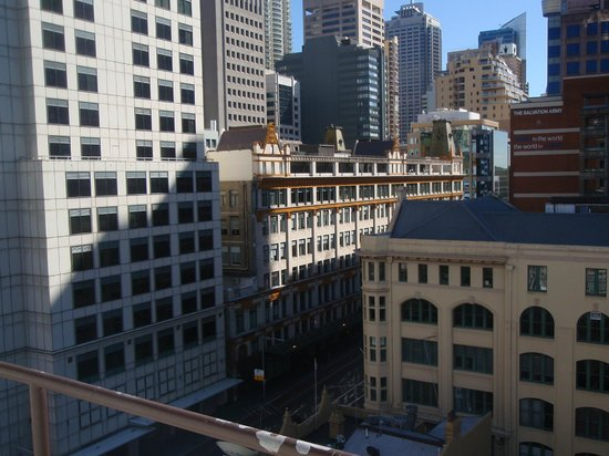 Vibe Hotel Sydney: View from the roof