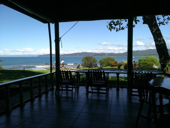 Drake Bay Wilderness Resort: View from the bar