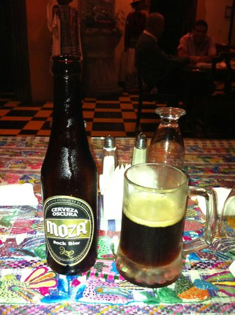 Pan American Hotel: Try the local beer!